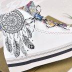 Invitación de boda zapatilla deportiva Cardnovel 39605 detalle