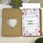 Hochzeitseinladungsfahrrad der Liebenden Cardnovel 39606 offen
