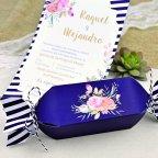 Invitación de boda caramelo Cardnovel 39607 detalle