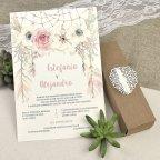 Invitación de boda caja detalle troquelado Cardnovel 39608