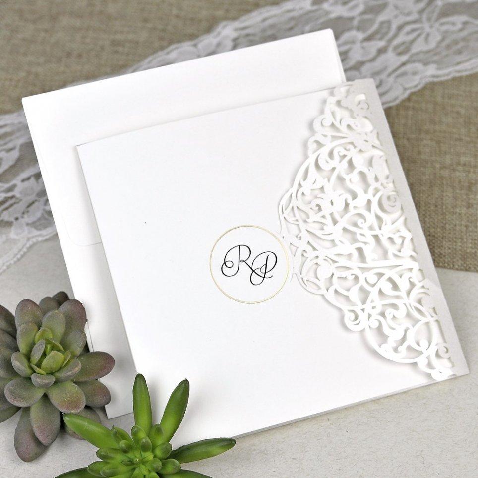 Invitación de boda verjas del amor Cardnovel 39617