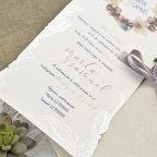 Hochzeitseinladungsbox und Pergament Cardnovel 39627 Text