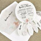 Invitación de boda atrapasueños Cardnovel 39633 posición