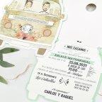 Hochzeitseinladungsreise von van, Cardnovel 39711