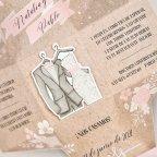 Wedding Invitation Box and Costumes, Cardnovel 39720