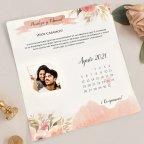 Hochzeitseinladungskalender und Foto, Cardnovel 39718