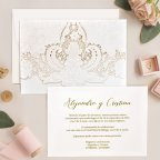 Toe and Relief Wedding Invitation, Cardnovel 39750