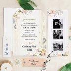 Photo booth wedding invitation, Cardnovel 39725