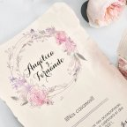 Wedding Invitation Chest with Scroll, Cardnovel 39712