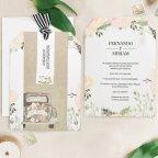 Just Married Wedding Invitation, Cardnovel 39727