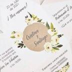 Hochzeitseinladungsbox und Blumen, Cardnovel 39734