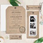 Kraft Wedding Invitation, Cardnovel 39731