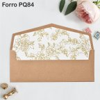 Kraft Premium Card Wedding Invitation, Cardnovel 39735