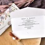 Invito a nozze fleur de lis, Cardnovel 39765
