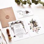 Pink Wedding Invitation, Cardnovel 39780
