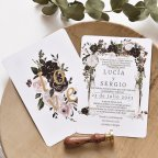 Rosen Hochzeitseinladung, Cardnovel 39780
