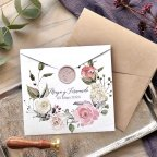 Postcard Semi-Open Wedding Invitation, Cardnovel 39777