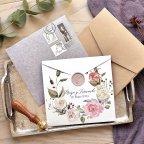 Invito a nozze semi-busta cartolina, Cardnovel 39777