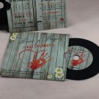 Vinyl Record Wedding Invitation, 1830G