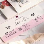 Invitación de boda colgate bicicleta, Cardnovel 39806