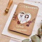 Invitación de boda Love Passport Cardnovel 39815