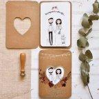 Love Passport Wedding Invitation Cardnovel 39815