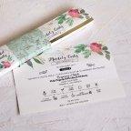 Wedding Invitation Box in Pastel Tones Cardnovel 39821