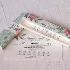 Invitación de boda caja en tonos pastel Cardnovel 39821