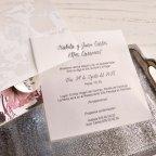 Perlmuttblumen der Hochzeitseinladung Cardnovel 39826