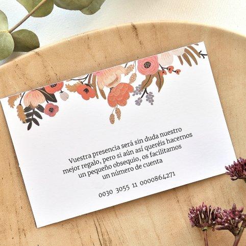 Blumenkreis danke Karte, Cardnovel 49785
