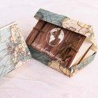 Koffer Hochzeitseinladung Lassen Sie das Abenteuer, Cardnovel 39817