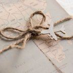 Invito a nozze con mappa del mondo, Cardnovel 39823