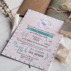 Invitación de boda mapamundi, Cardnovel 39823