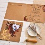 Invito a nozze cuore con foto, Cardnovel 39825