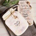 Floral Jar Wedding Invitation, Cardnovel 39827