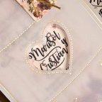 Invitación de boda tarro floral, Cardnovel 39827