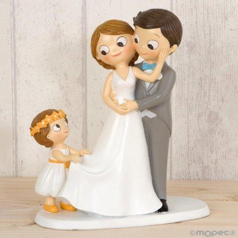 Pop & Fun torta figura fidanzati con ragazza 21