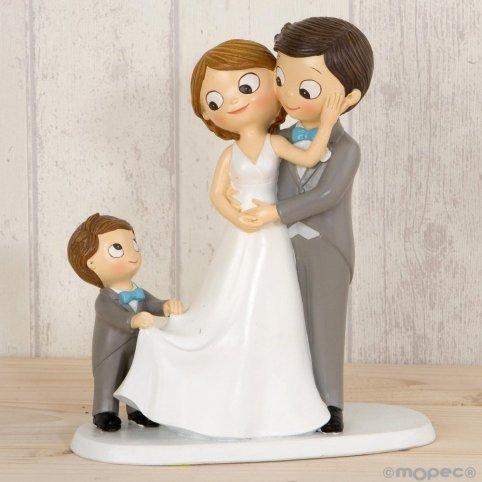 Figura torta pop & fun sposi 21