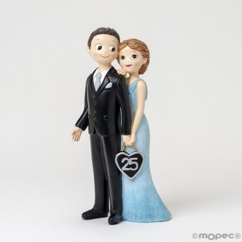 Figure wedding anniversary 25years Pop&Fun