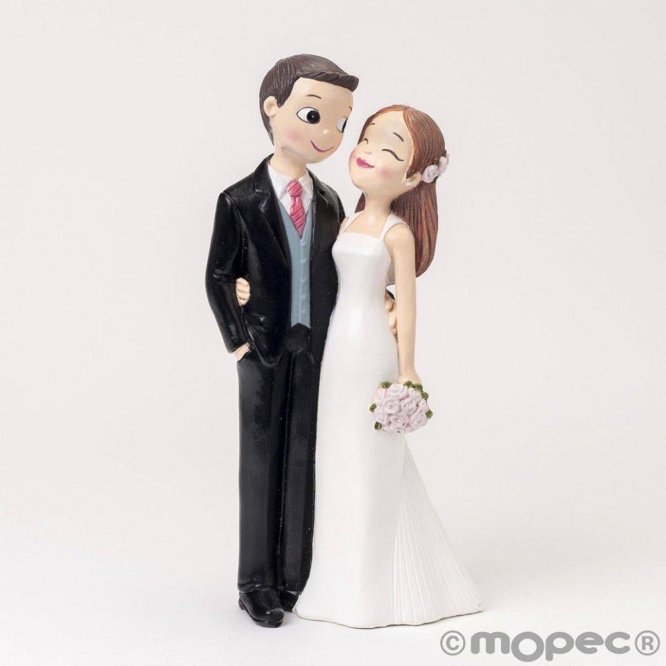 Figura pastel Pop & Fun novios amorosos 21cm