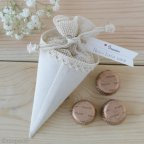 Cono-bolsa 3 chocolates*