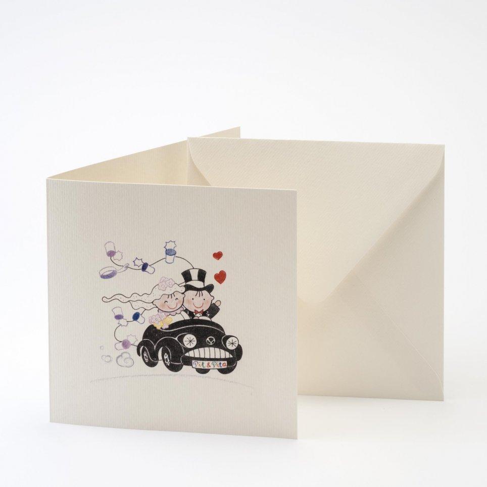Pit-Pita-Pfahlwagen mit Umschlag