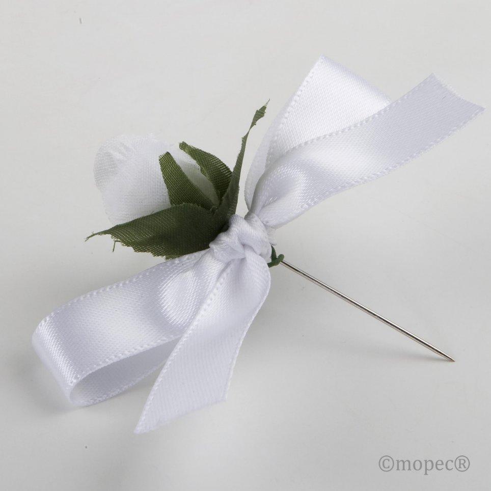 Prendido flor blanca
