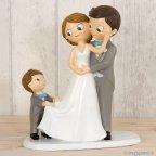 Pop & Fun Kuchenfigur Braut und Bräutigam 21