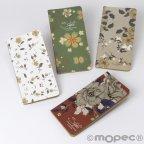 Blumennotizbücher 9x17cm 4 sortiert