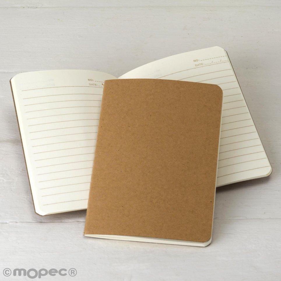 Quaderno con copertina Kraft 14