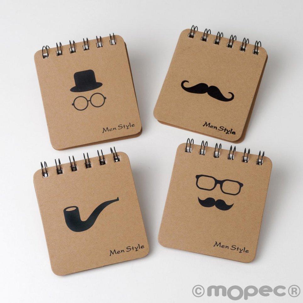 Herren Style 4 Spiral-Notebook-Modelle 8