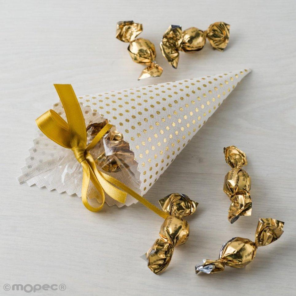Cono topos dorados 5croki-choc