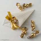 Goldener Tupfenkegel 5croki-choc
