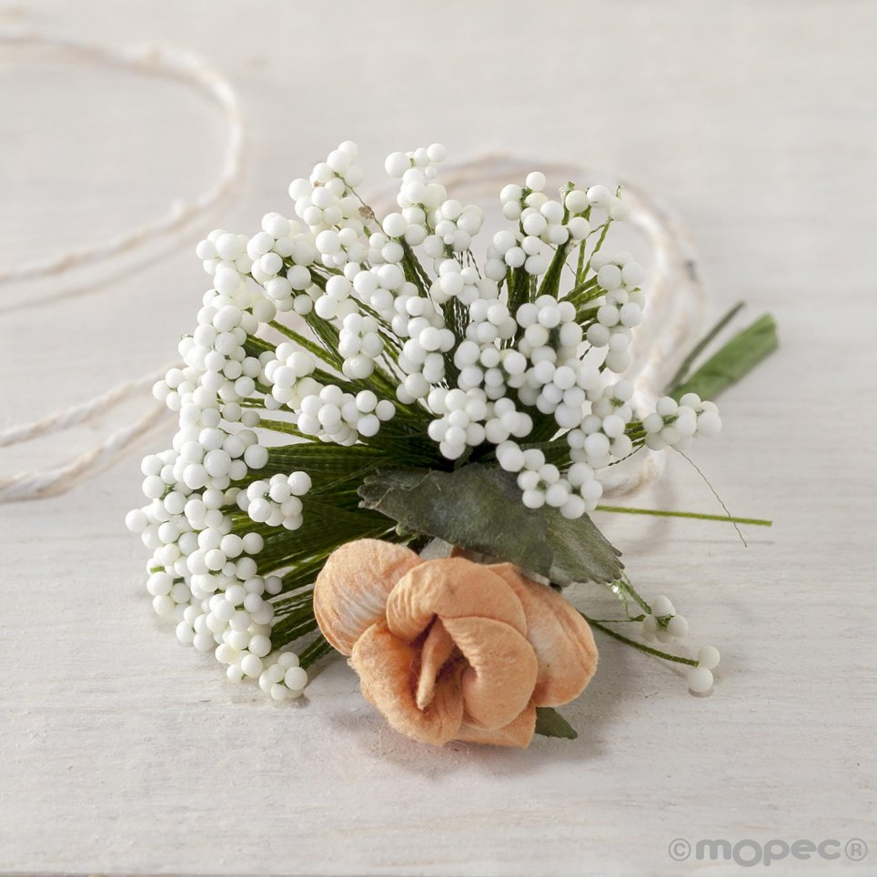 Floral bouquet with gypsophila for I150